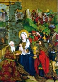 Aanbidding van de Koningen, J. Stöcker