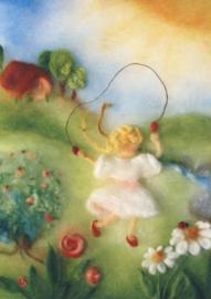 Touwtje springen, Franziska Sertori-Kopp