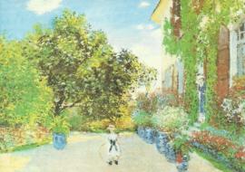 Het huis van de kunstenaar in Argenteuil, Claude Monet