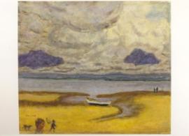Het strand bij eb, Pierre Bonnard