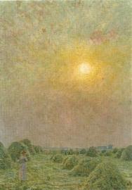 Ondergaande zon, Emile Claus