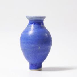Blauwe vaas (steker)