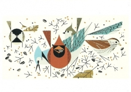 Vogels voeren, Charley Harper