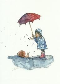Regenslak, Stefanie Messing