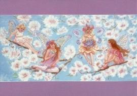 Vier elfjes op een tak, Judy Mastrangelo