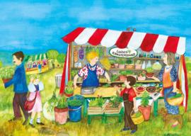Marktkraam, Eva-Maria Ott-Heidmann