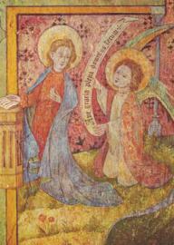 Verkondiging, fresco Oberwesel