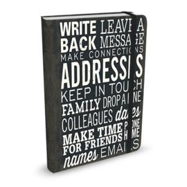 Adresboek Peter Pauper Keep in touch