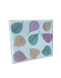 Olino Paperworks, Gastenboek mulberrypapier/bodhiblad lichtblauw