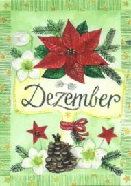 December, maandkaart Inga Berkensträter