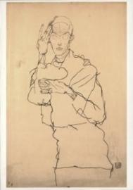 De denker, Egon Schiele
