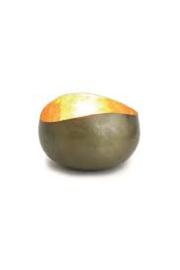 Waxinelichthouder Goldlicht Swing, messing/goud