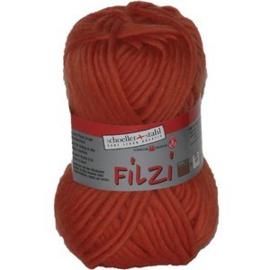 Filzi 100% viltwol 50 gram / bol kleur 007 oranje