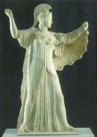Athene, Griekse sculptuur 5de eeuw v.Chr.