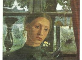 Meisje voor het raam, Paula Modersohn-Becker