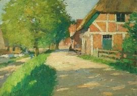 Dijk in Cranz in zonlicht, Thomas Herbst