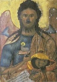 Johannes de Doper, Roemeens-byzantijns ikoon