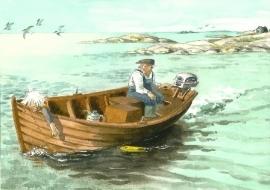 Motorboot, Lena Anderson