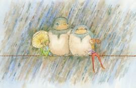 Stormy weather, Pauline Meijer