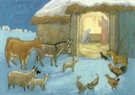Dieren en heilige familie, Molly Brett