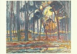 Bos bij Oele, Piet Mondriaan