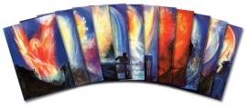12 aspecten van Michael, set postkaarten, David Newbatt