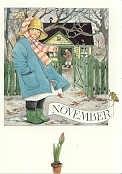 November, maandkaart Lena Anderson