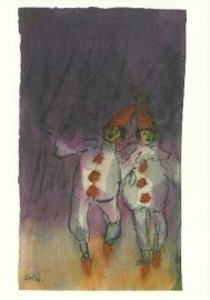 Twee clowns, Emil Nolde