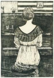 Mies Elout achter de piano, Paul Schultze