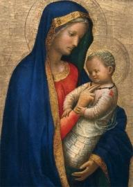 Maria met kind, naar Masaccio
