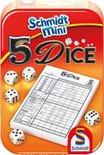 5 Dice, mini dobbelspel vanaf 8 jaar