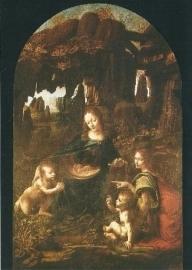 Felsgrotten-madonna, Leonardo da Vinci