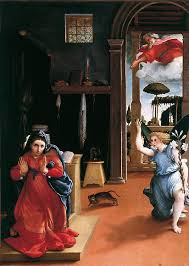 Verkondiging, Lorenzo Lotto