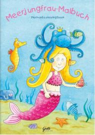 Kleurboek zeemeermin A5