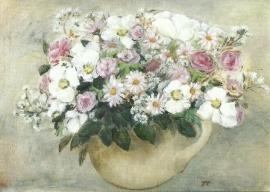 Bloemenstilleven, Tomma Leckner