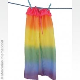 Regenboog Cape zijde