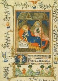 Geboorte, getijdenboek Notre Dame