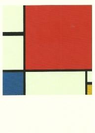 Compositie met rood, blauw en geel, Piet Mondriaan