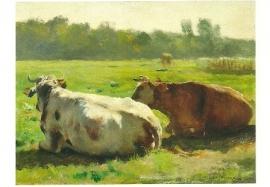 Koeien in een weide, Jules Dupré