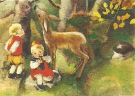 In het herfstbos, Mili Weber