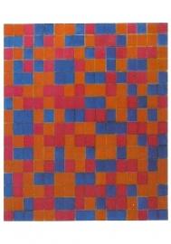 Rastercompositie 8, Piet Mondriaan