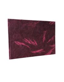Olino Paperworks, Gastenboek solarprint rood