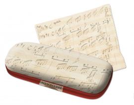 Brillenkoker incl. brillendoekje: Beethoven