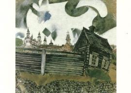 Het grijze huis, Marc Chagall