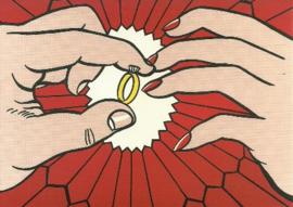 De ring (verloving), Roy Lichtenstein