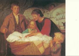 De nieuwgeborene, Albert Anker