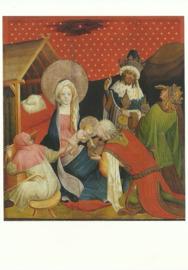 Aanbidding van de Koningen, Meister Francke