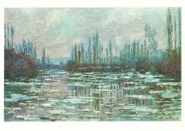 Gebroken ijs, Claude Monet