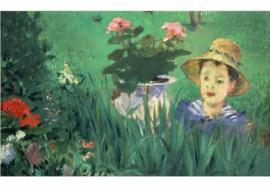 Jongen in de bloemen, Edouard Manet