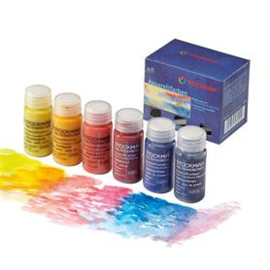 Aquarelverf Stockmar 20ml (basisassoritment van 6 kleuren in doosje)